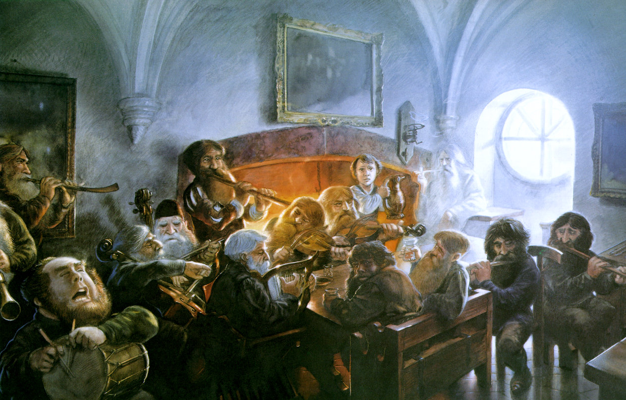 John Howe - An Unexpected Party
