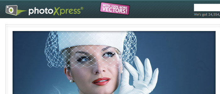 PhotoXpress homepage