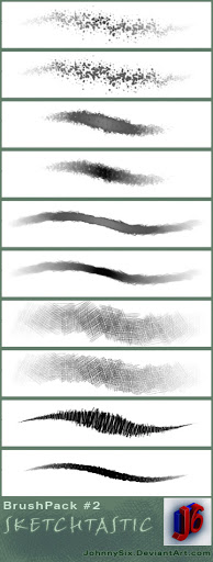 Sketchtastic brush pack 2