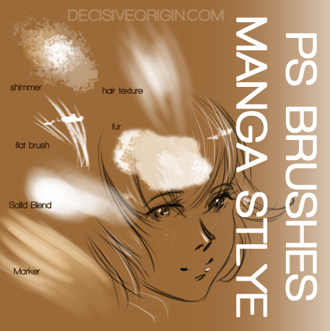 Manga Brush Pack
