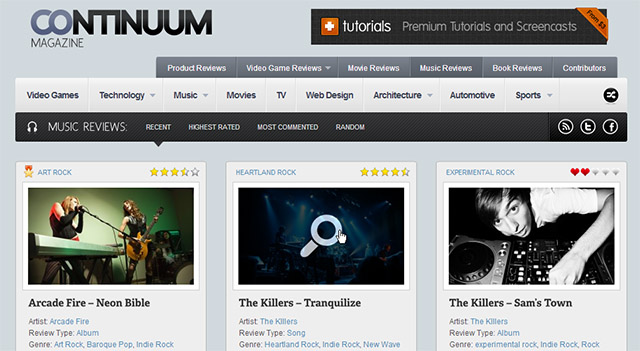 Temas WordPress para sites sobre música - Tutoriart