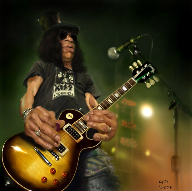 Caricatura digital - Slash
