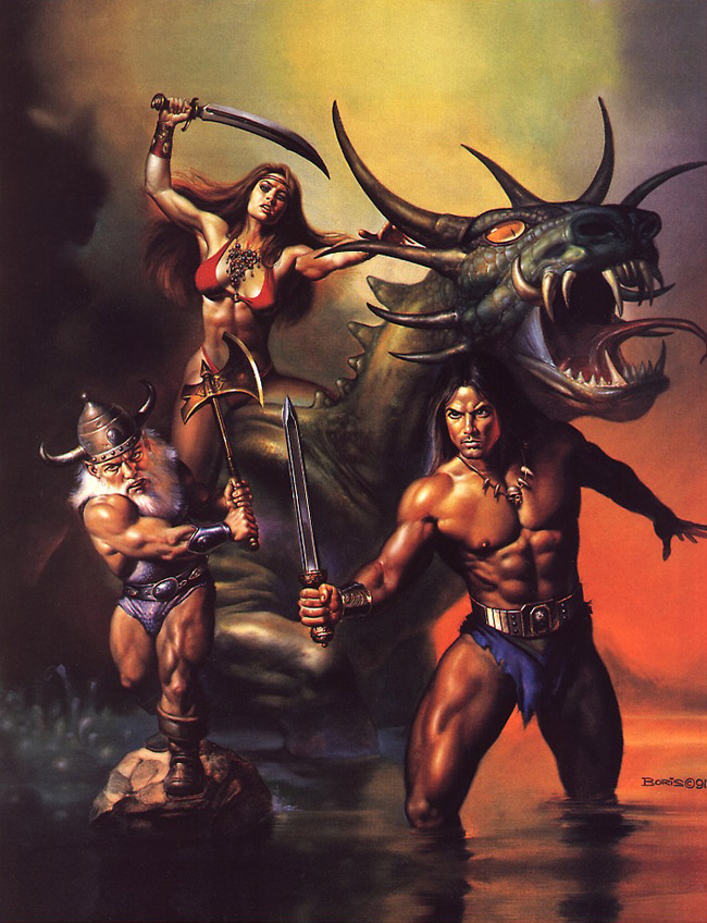 golden axe de boris vallejo