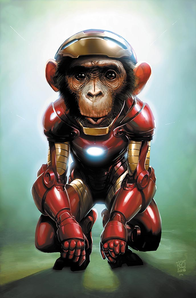 iron chimp de jprart