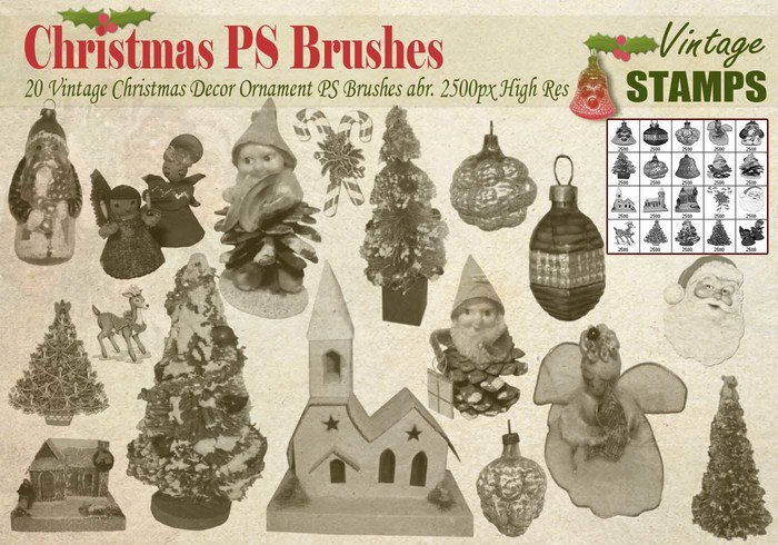vintage-christmas-ps-brushes
