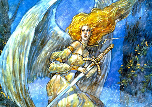 Serra Angel Rebecca Guay Magic