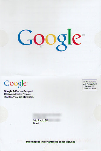 Carta do Google com seu PIN