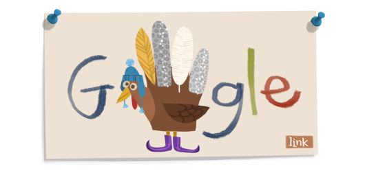 Thanksgiving 2011 doodle