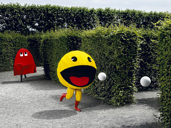 Pac-Man Jump 'n' Run