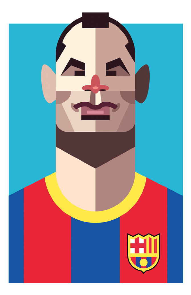 Playmakers Iniesta