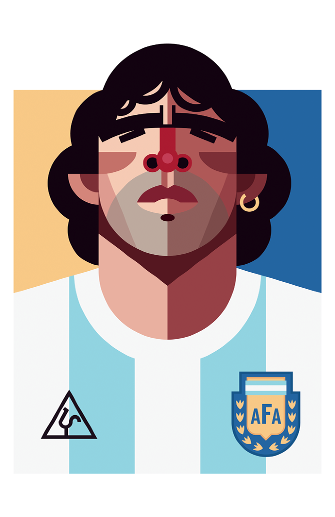 Playmakers Maradona