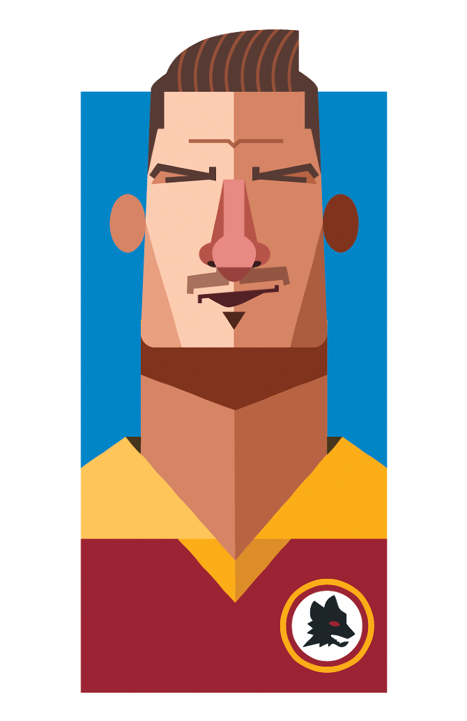 Playmakers Totti