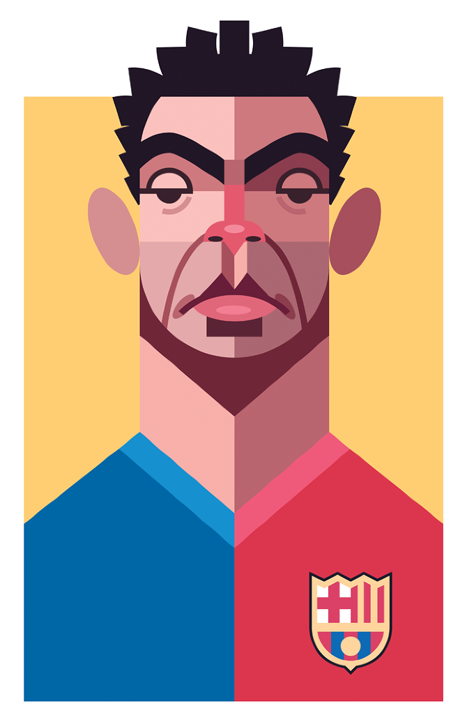 Playmakers Xavi