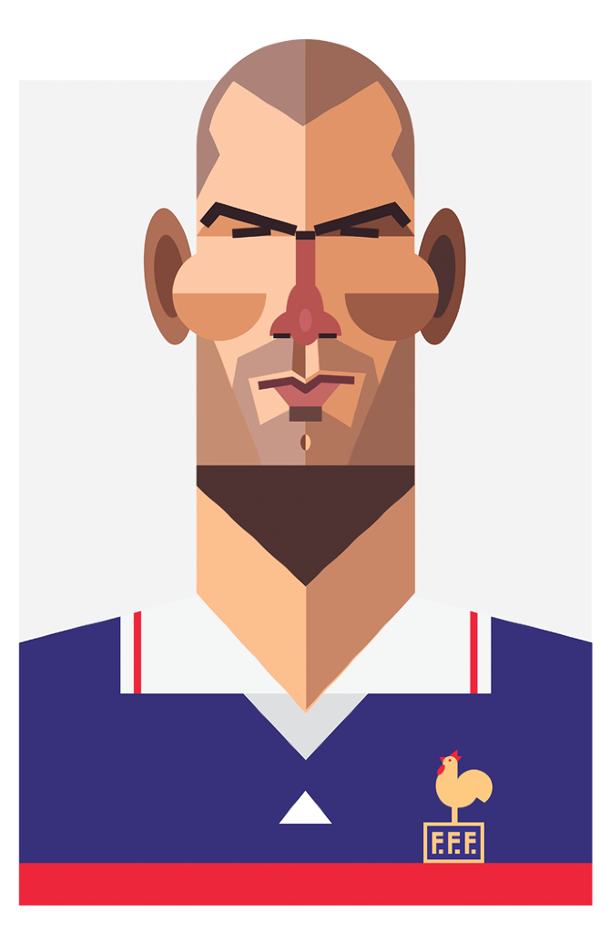 Playmakers Zidane