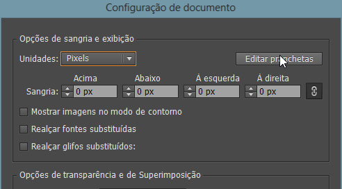 Editar prenchetas do illustrator