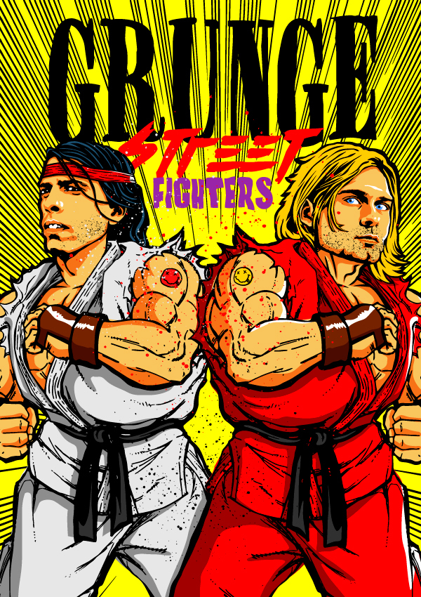 billybutcher Grunge Street Fighters