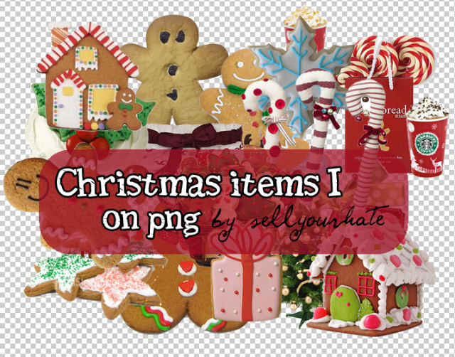 png christmas items