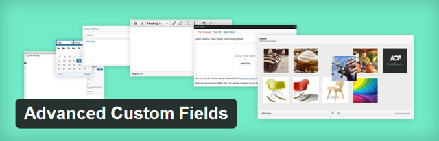 Advanced Custom Fields plugin WordPress
