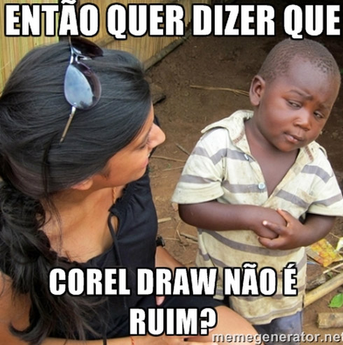 MEME corel draw