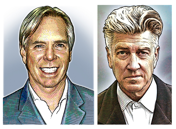 Hedcut Tommy Hilfiger e David Lynch