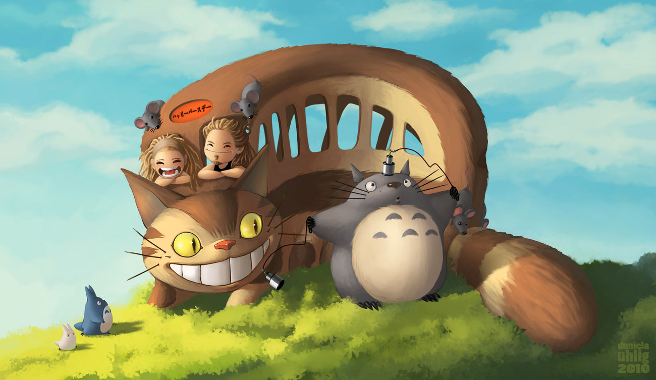 Daniela Uhlig - Totoro and Friends