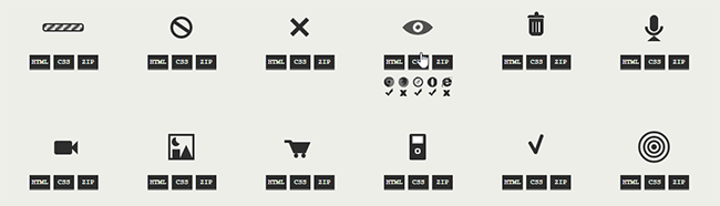 One Div Icons