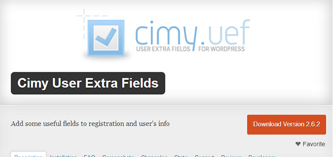 Cimy WordPress Plugin