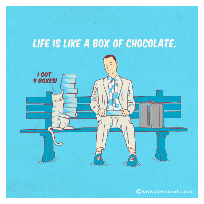 HENG SWEE LIM - Life is like a box of chocolate