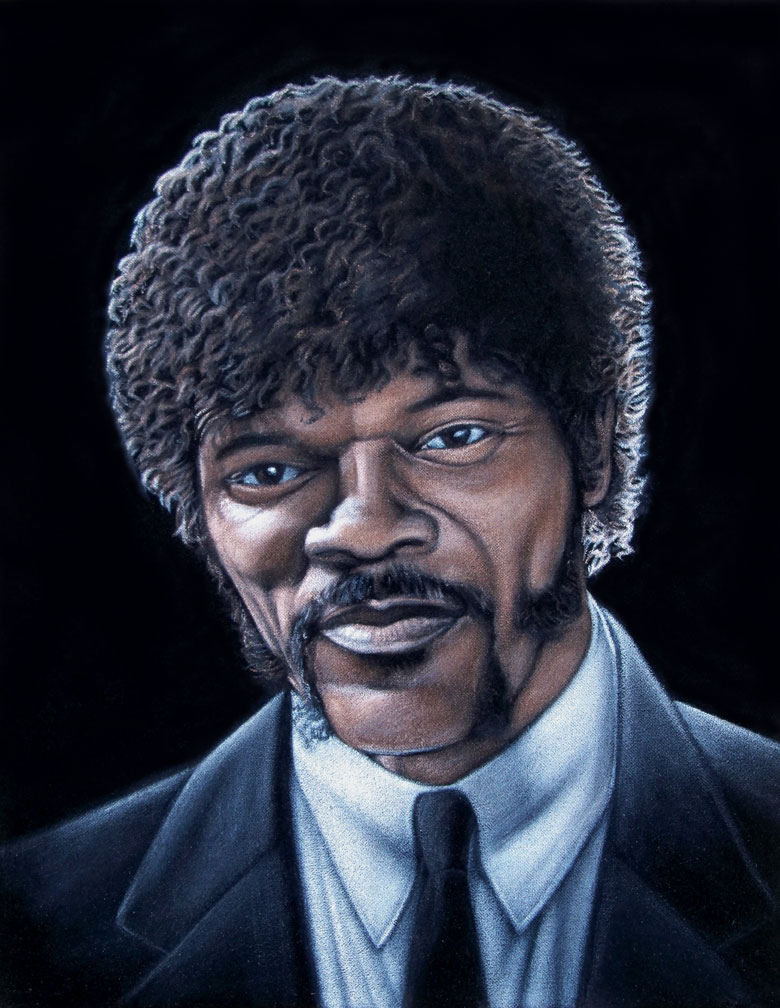 Jules Winnfield (Pulp Fiction) de Bruce White