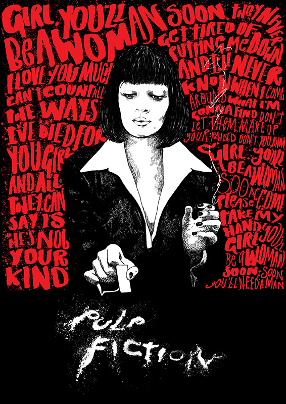 ADMIT ONE Pulp Fiction