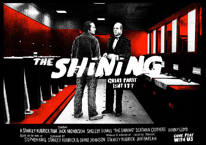 ADMIT ONE The Shining