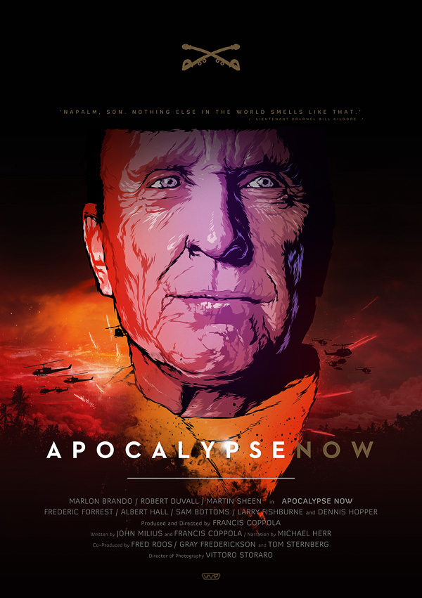 apocalypse now cartaz vetorial