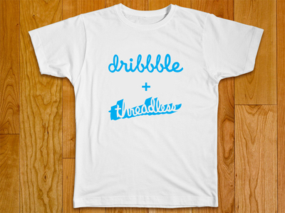 Threadless + dribbble T-Shirt mockup