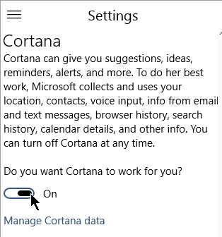 Do you want cortana to work?