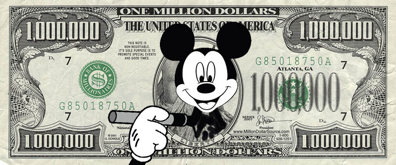one million mickey