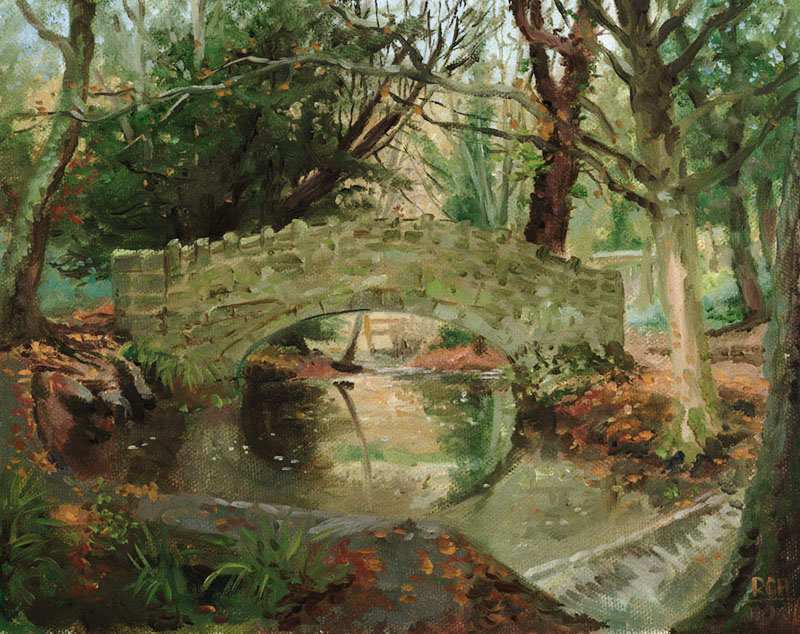 meanwood beck bridge ralph horsley
